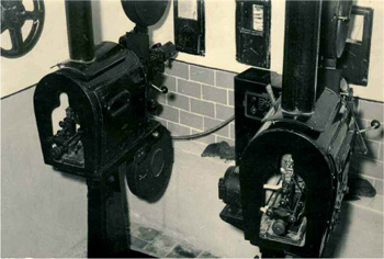 Viejos proyectores de cine