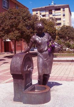 Fuente Mujer con Cántaro de Orcasitas