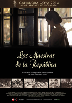 Cartel del documental Las maestras de la República