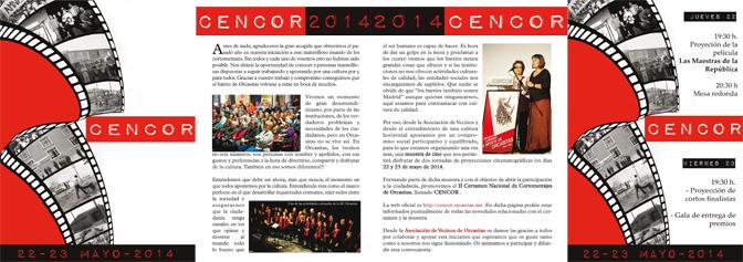 Programa CENCOR 2014